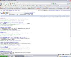 Benoit en tête sur Google.fr